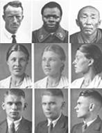 Nationalsozialistisches Propagandamaterial zur Rassenkunde: Unterrichtsmaterial ca. 1935
