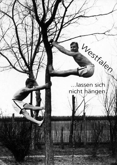 Westfalen ...lassen sich nicht hängen