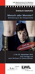 Titel Flyer Behinderung in der Filmgeschichte [rechts]