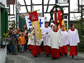 """Heinz Wener """"Palmprozession 2010 im Alten Dorf Westerholt"""""""