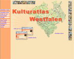 Dieses Bild zeigt die Startseite Kulturatlas Westfalen
