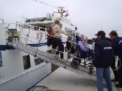 Schifffahrt zu den Seehundsbänken