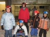 Eins von vielen Gruppenfotos in der Skihalle in Bottrop