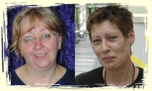 Unsere Bürokräfte Frau Wollenschläger (links) und Frau Krause (rechts) helfen Ihnen gerne weiter.