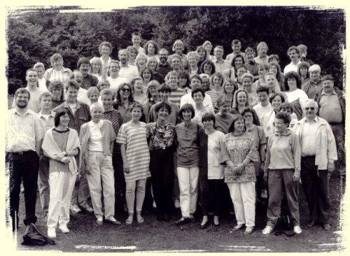 Das Kollegium (vermutlich) 1993/1994