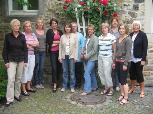 Einige Mitarbeiter des Therapeutischen Dienstes der Löchterschule (Sommer 2008)