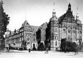 Das Landeshaus im Jahr 1928.
