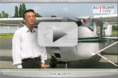Führt zum Film über den Luftbildachäologen