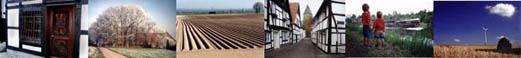 Die Bildleiste zeigt verschiedene Motive aus der Region Westfalen-Lippe