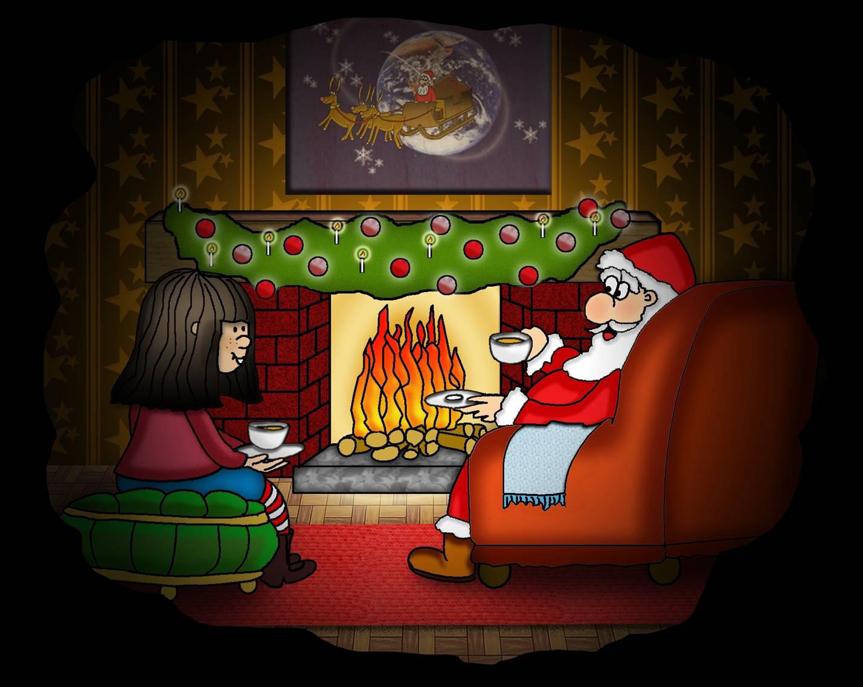 Bilddatei: Sam_u-d-Weihnachtsmann_Bild16(C) Planetarium Bremen.jpg