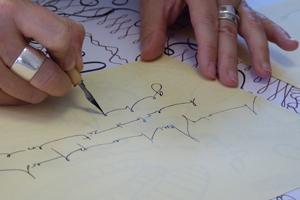 Bilddatei: Kalligrafie Foto B. Borchers_300x200px.jpg