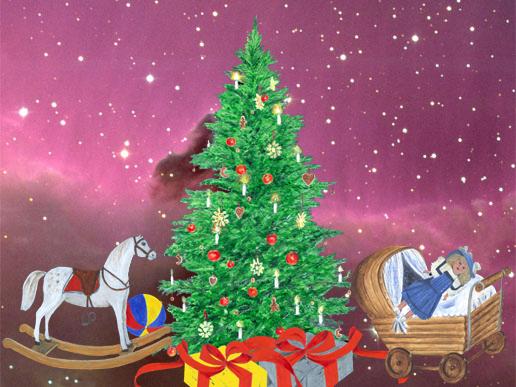 Bilddatei: Weihnachtsbaum-Collage-Sterne-rosa.jpg