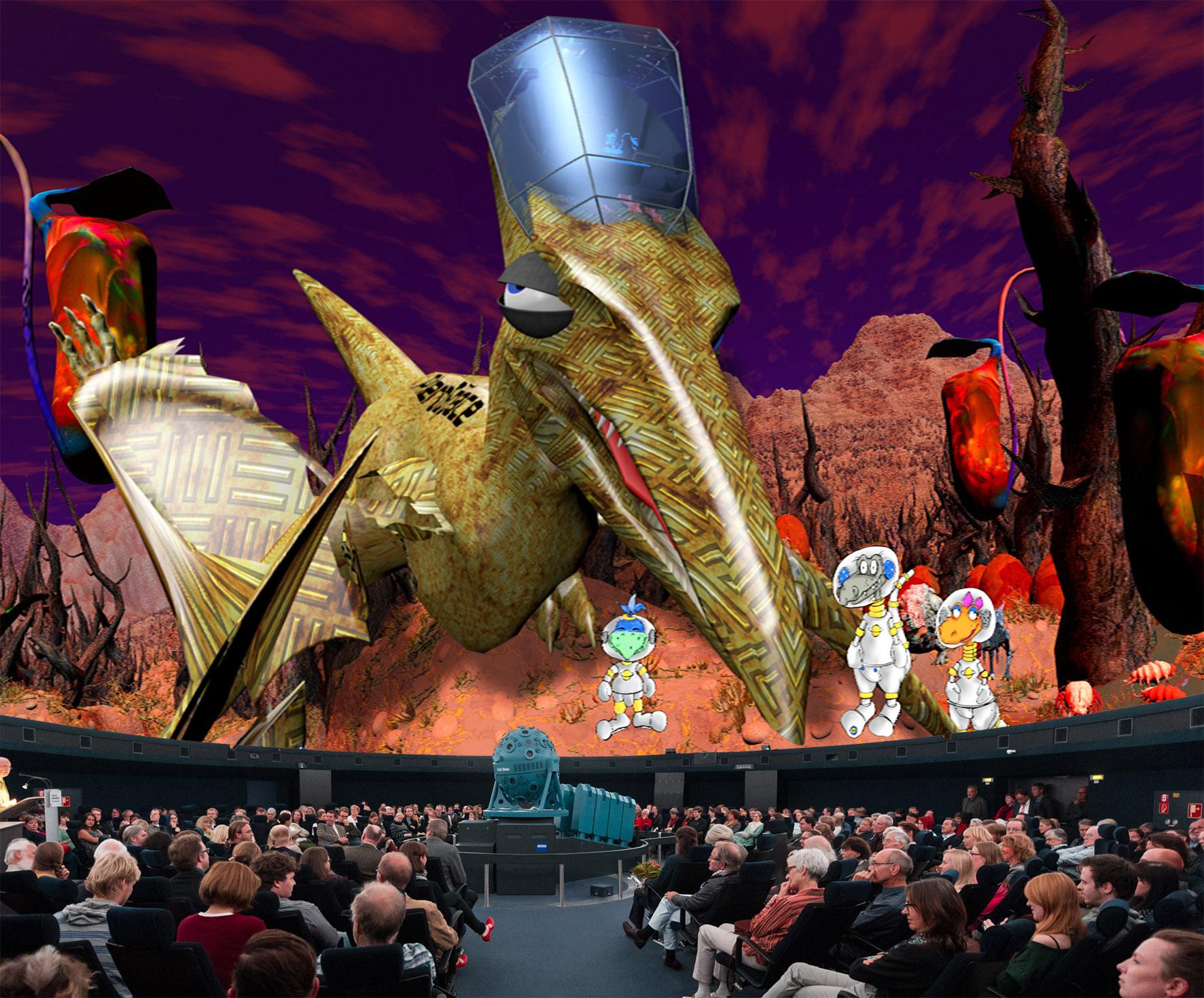 Bilddatei: Dinos_im_Weltall(C)LWL+PlanetariumBochum.jpg