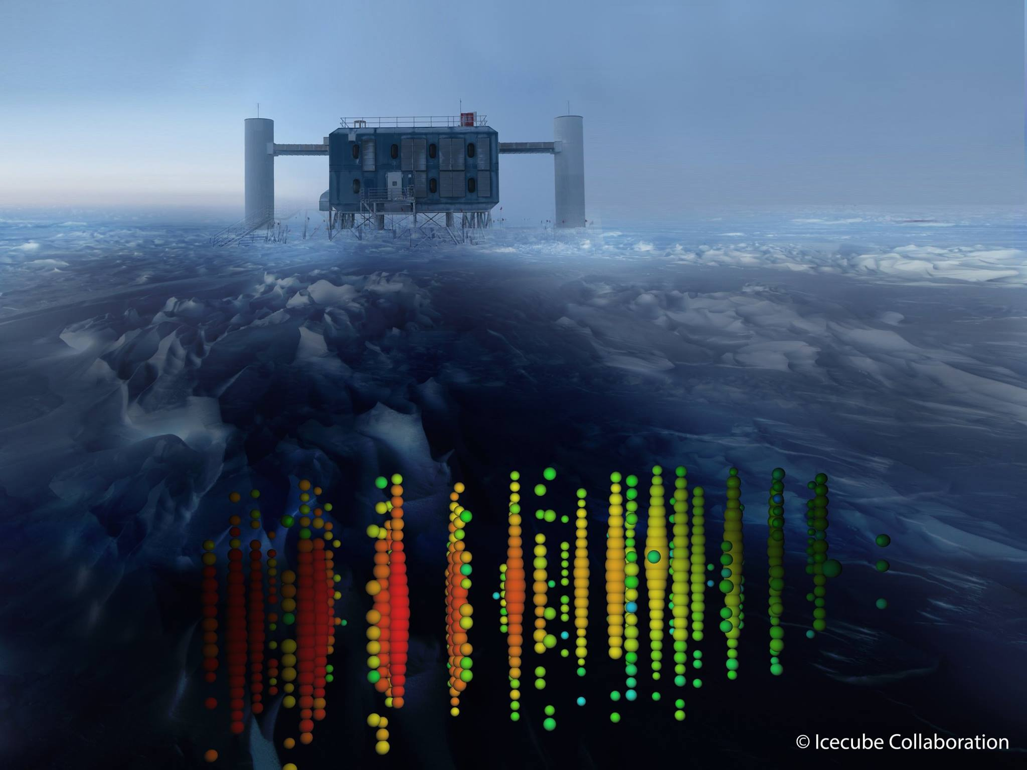 Bilddatei: IceCube(C)IceCube Collaboration.jpg
