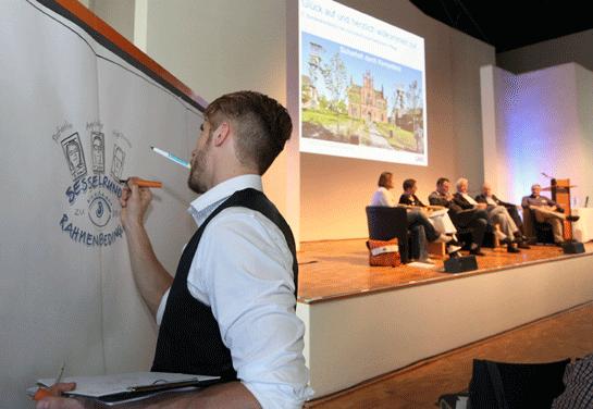 Foto: Sesselrunde Bundeskonferenz forensische Pflege