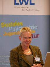 Foto von Jutta Muysers, stv. Ärztliche Direktorin der LVR-Klinik Langenfeld