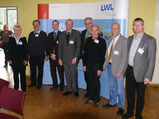 Gruppenfoto der Vortragenden des 26. Expertengespräches 'Psychiatrie und Recht'