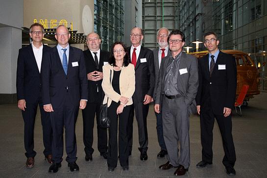 Foto: Die Vortragenden der gemeinsamen Fachtagung beim OLG Hamm am 26.09.2013