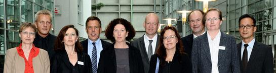 Foto: Die Referentinnen und Referenten der Fachtagung