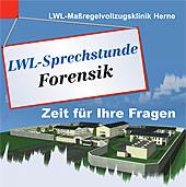 Sprechstundenschild: LWL-Sprechstunde Forensik