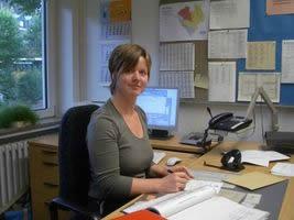 Unsere Sekretärin