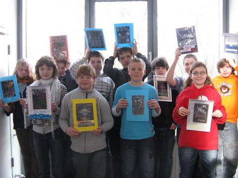 Bücher im Wind! Die Klasse 6a ist dabei!