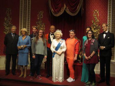 Zu Besuch bei den Royals