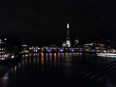 London by night!