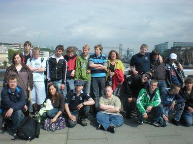 Klassen 10A und 10B in London!