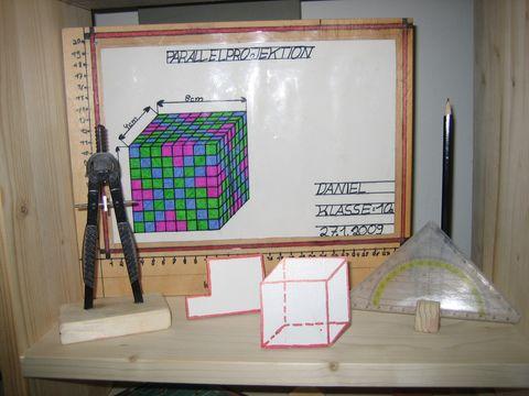 Sehr gelungen ist auch das Fach Technisches Zeichnen (TZ)