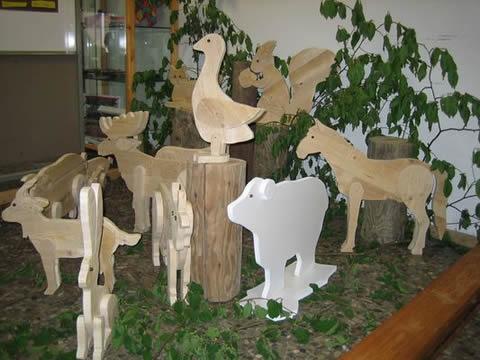 Tiere aus der Produktion der Klasse 9b