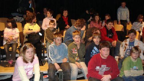 Die SchülerInnen der Stufe 5 als aufmerksame Beobachter...