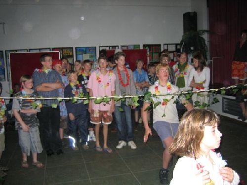 So viele Teilnehmer beim Limbo!