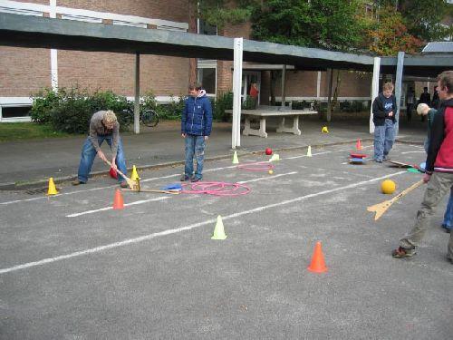 Spiel und Spaß auf dem Schulhof!