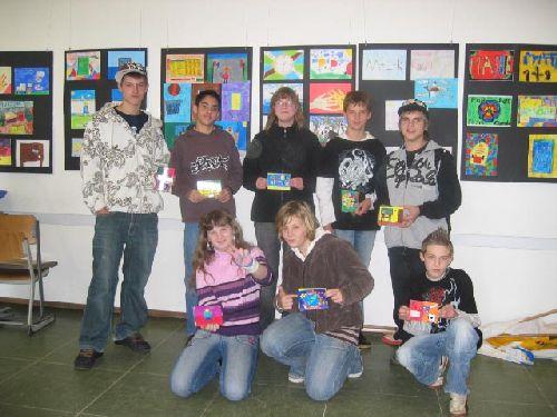 So sehen Sieger aus! Die 8 ausgewählten Künstler mit ihren Kunstwerken!