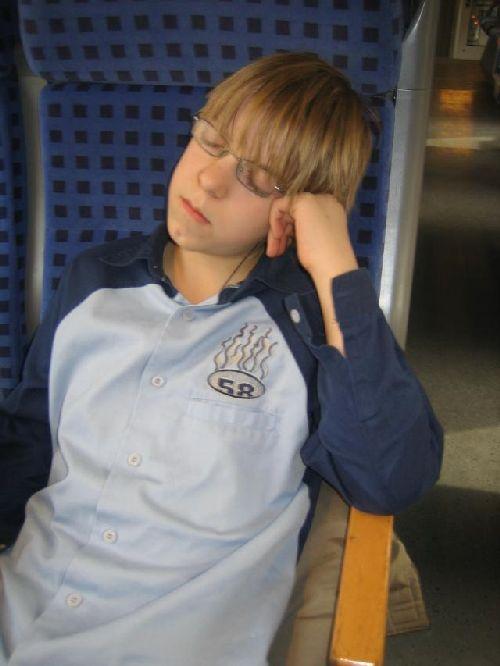 Zustand der Teilnehmer nach der SV-Fahrt...