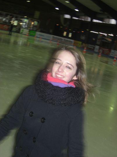 Bald werde ich Eiskunstläufer...