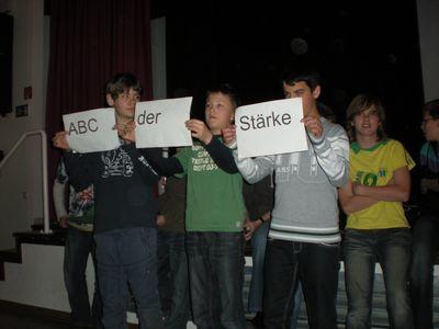 Das ABC der Stärke