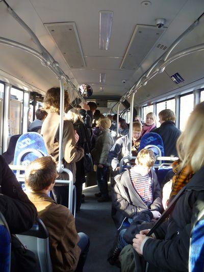 """Ein ganzer Bus voll """"MLK"""""""