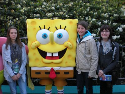 Mit Sponge-Bob auf Du un Du!
