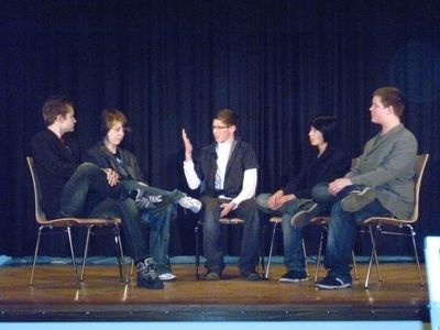 Szene aus dem Theaterstück