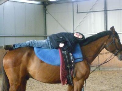 Das größte Glück dieser Erde - liegt auf dem Rücken der Pferde...