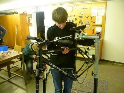 Bald repariere ich mein Fahrrad ganz allein!