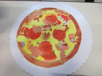 Ist die Pizza echt...?