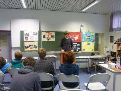 Vorträge vor Mitschülern - Eine gute Übung!