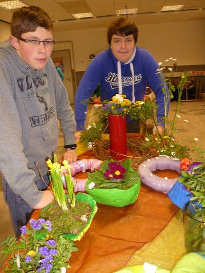 Floristik - auch für Jungen kein Problem!
