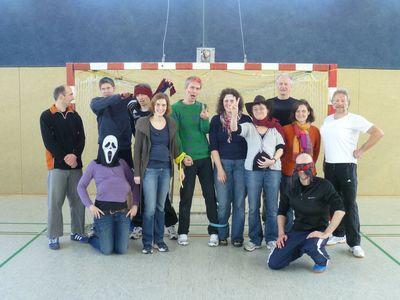Das Lehrer-Team! Kaum wieder zu erkennen!