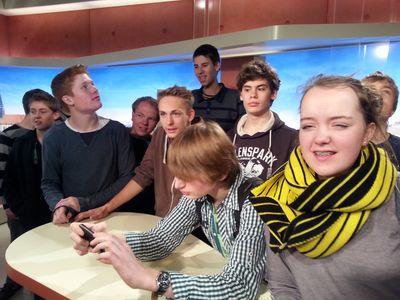 Wir sind im Fernsehen... !!!