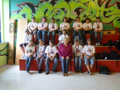 Das Team der MLK beim Welt-Nichtraucher-Tag