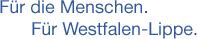 Für die Menschen, für Westfalen-Lippe